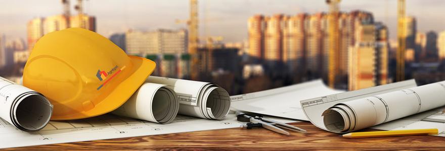 la construction de bâtiment