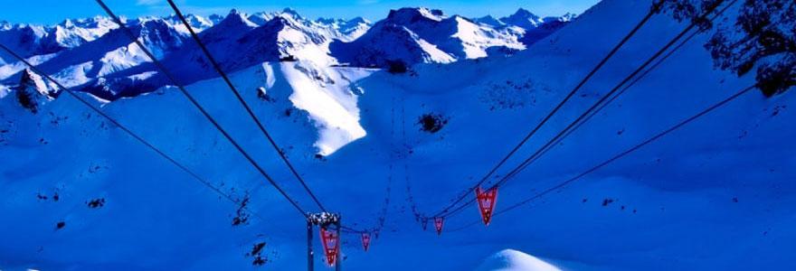 Les vacances d'hiver au ski en camping-car