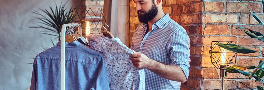 homme type de chemise choisir