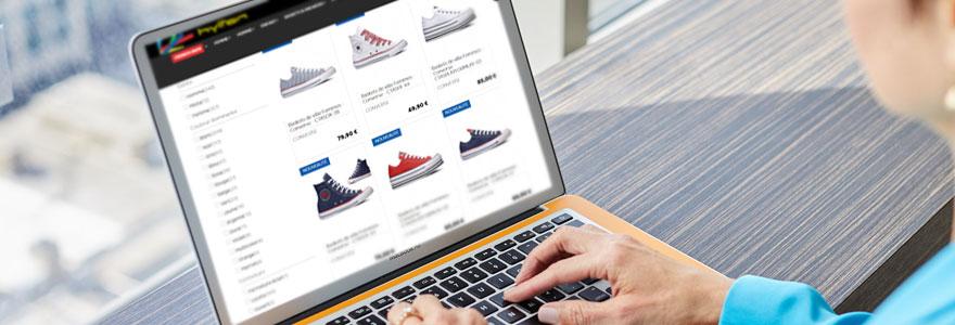 Achat de chaussures et de baskets en ligne