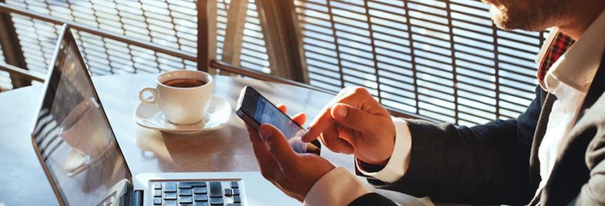 Domiciliation sur mobile
