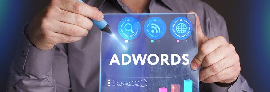 Google Adwords visibilité entreprise