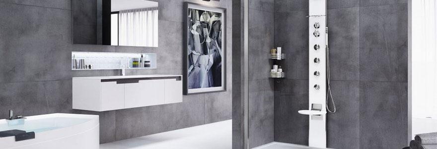 Comparatif de colonnes de douches hydromassantes