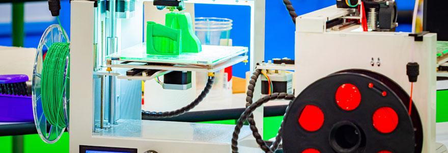Les différents types de filaments dans l'impression 3D